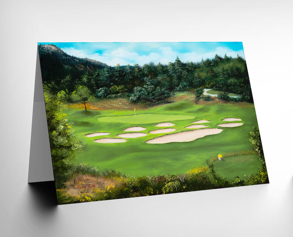 Bear Dance Signature Hole #6 - Greeting Card