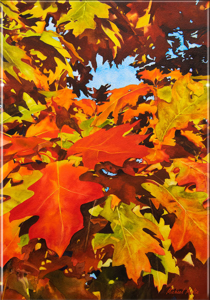 Burst Of Autumn - Resin Print