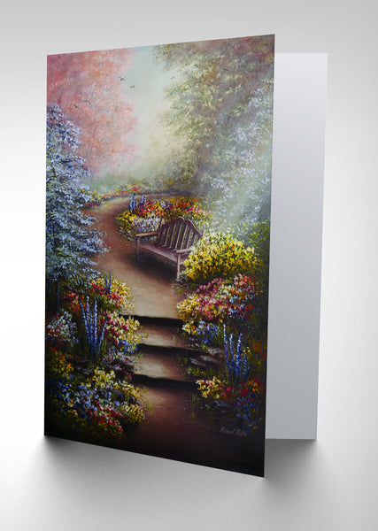 Colours of Serenity - Greeting Card