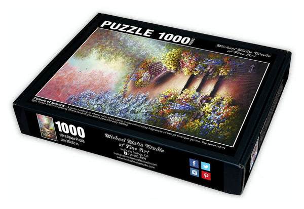 Colours of Serenity - Jigsaw Puzzle