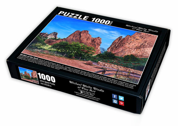 North & South Gateway Rocks - Jigsaw Puzzle