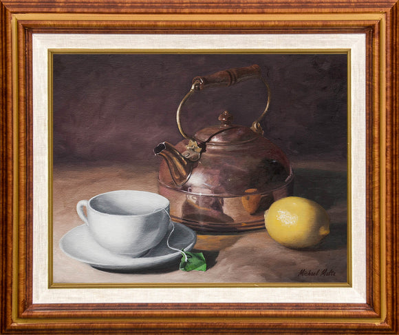 Tea Time - Canvas Print