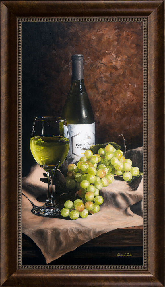 Vino Bianco - Studio Canvas Print