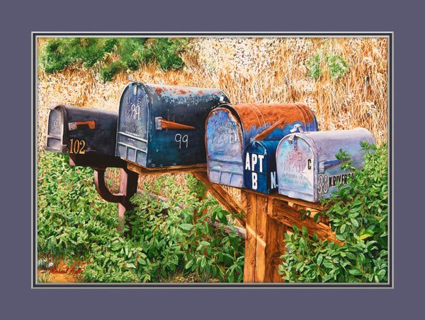 You Got Mail Matted Prints