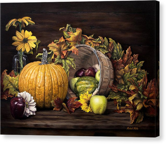 A Touch Of Autumn - Canvas Print