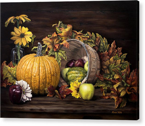 A Touch Of Autumn - Acrylic Print