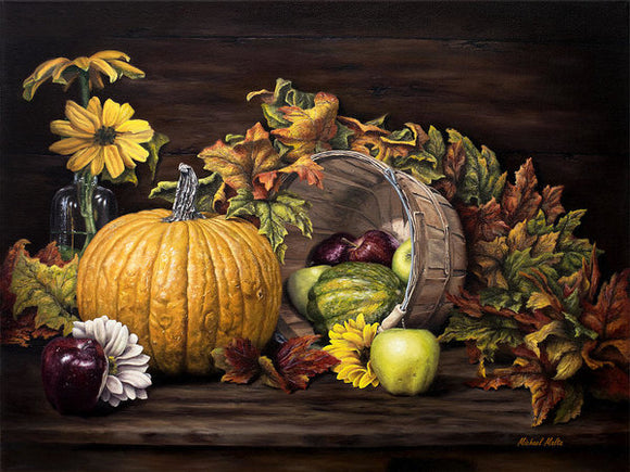 A Touch Of Autumn - Art Print