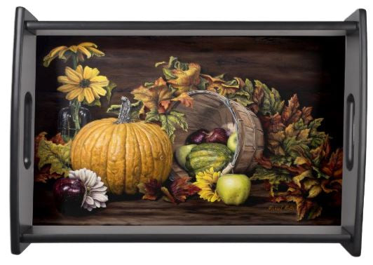 A Touch Of Autumn - Serving Tray