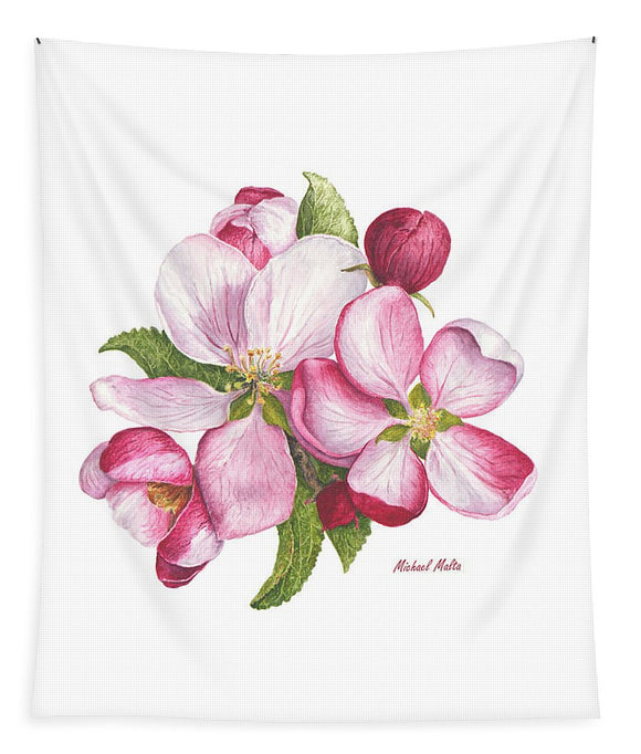 Apple Blossoms - Tapestry