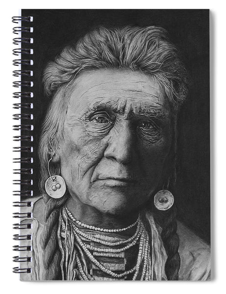 Crow Warrior - Spiral Notebook