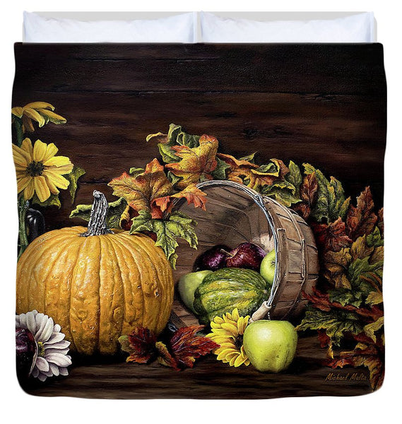 A Touch Of Autumn - Duvet Cover