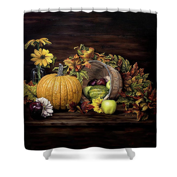 A Touch Of Autumn - Shower Curtain