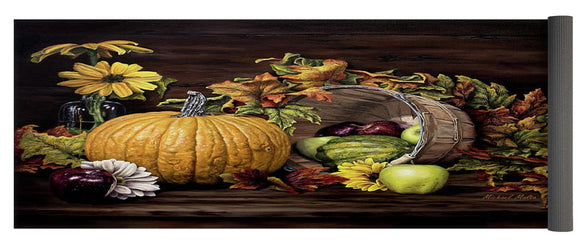 A Touch Of Autumn - Yoga Mat