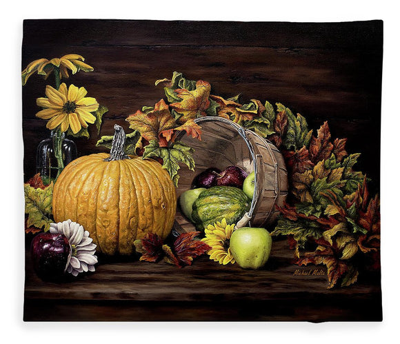 A Touch Of Autumn - Blanket