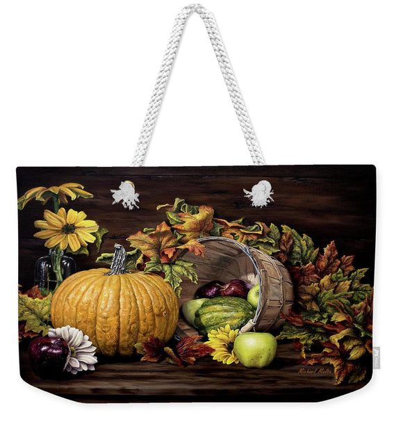A Touch Of Autumn - Weekender Tote Bag