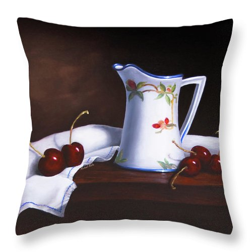 Simply Cherries - Throw Pillow