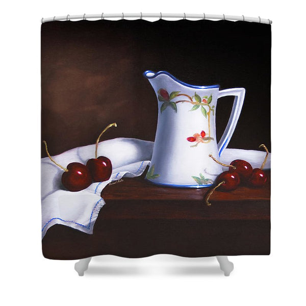 Simply Cherries - Shower Curtain