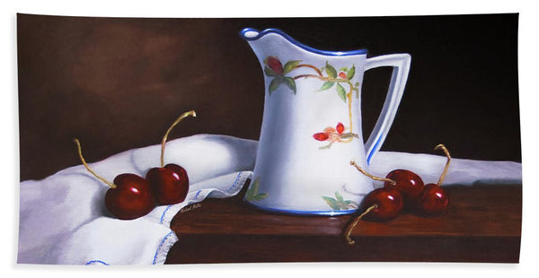 Simply Cherries - Beach Towel