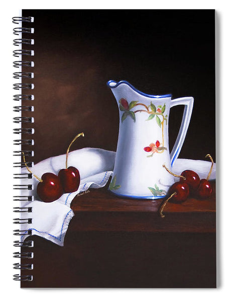 Simply Cherries - Spiral Notebook