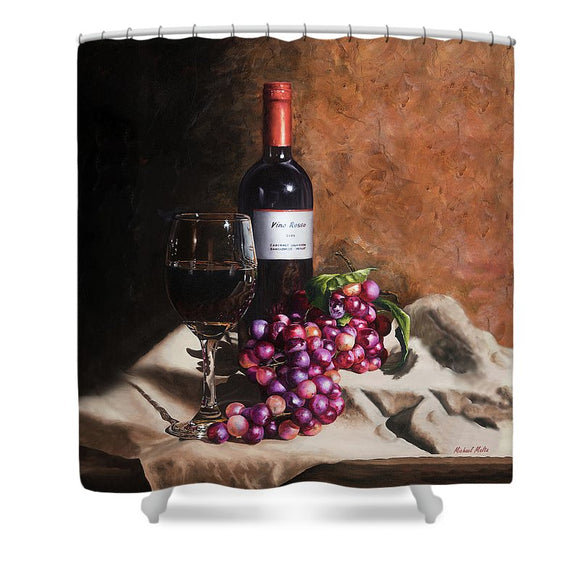 Vino Rosso - Shower Curtain