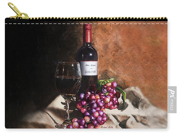 Vino Rosso - Carry-All Pouch