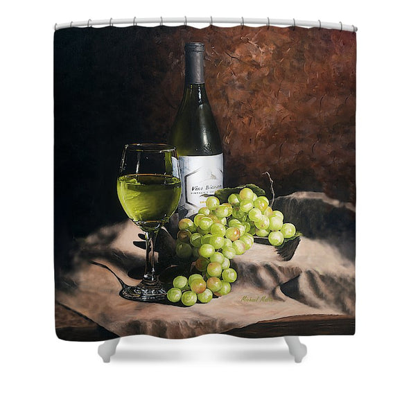 Vino Bianco - Shower Curtain