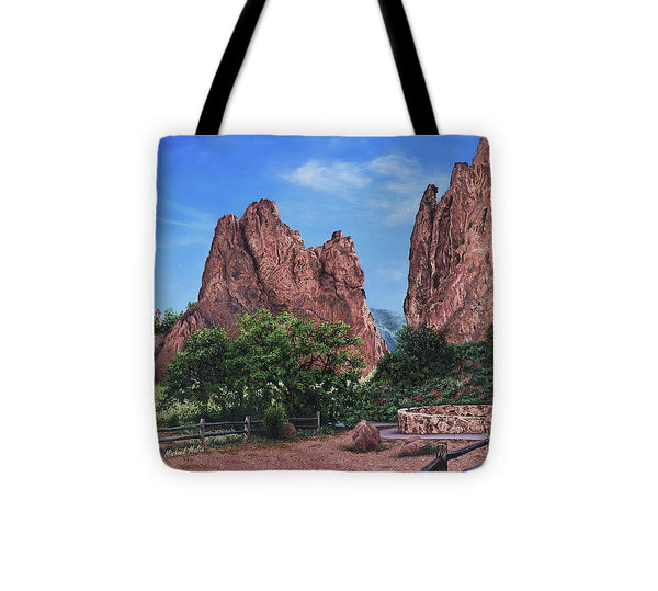 North & South Gateway Rocks - Tote Bag