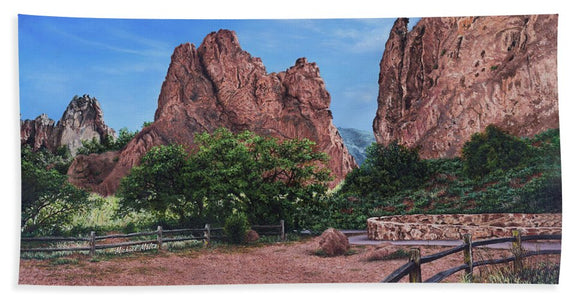 North And South Gateway Rocks - Beach Towel
