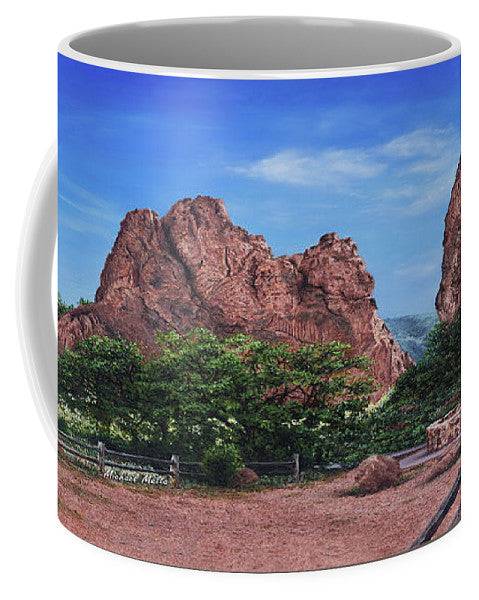North & South Gateway Rocks - Mug