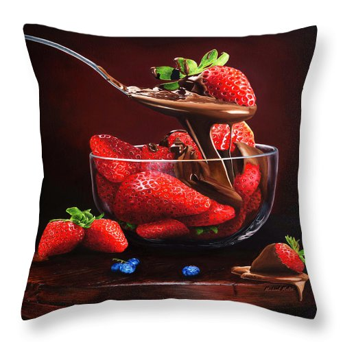 Indulge - Throw Pillow