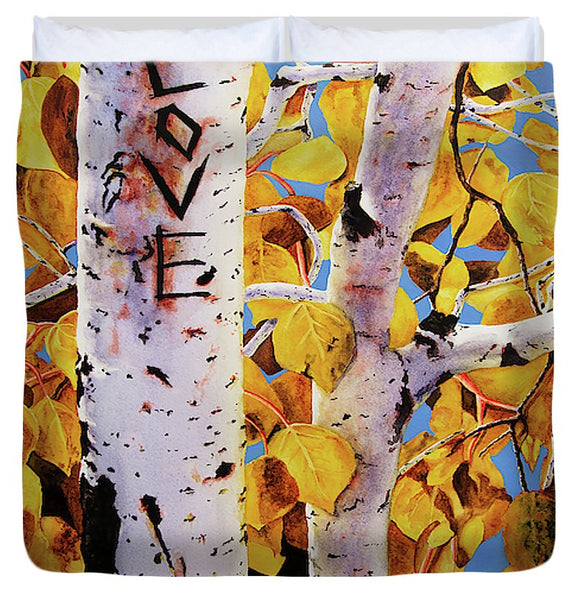 Quaking Aspens - Duvet Cover
