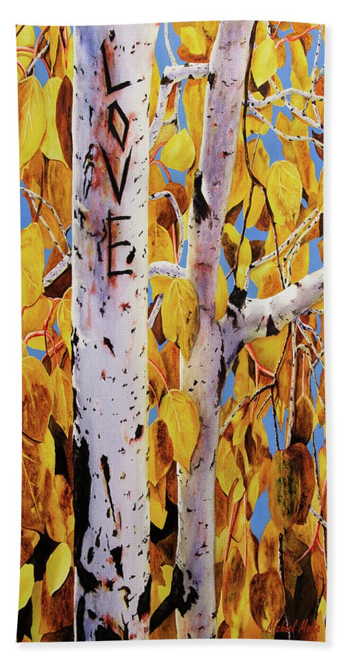 Quaking Aspens - Beach Towel