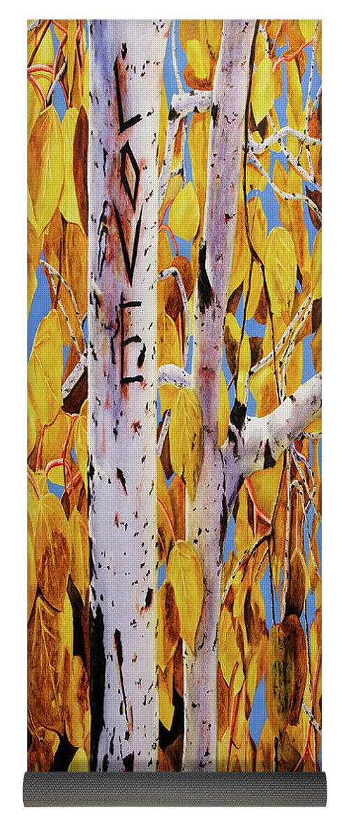 Quaking Aspens - Yoga Mat