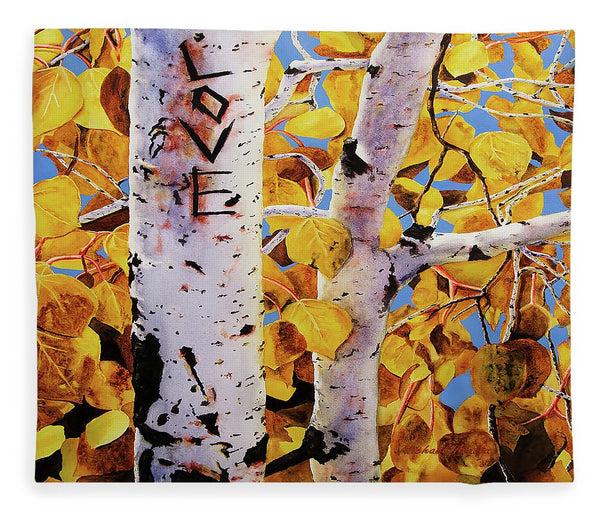 Quaking Aspens - Blanket