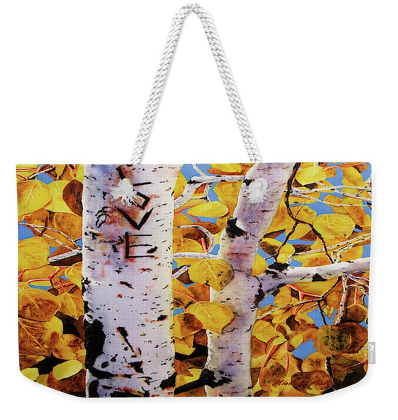 Quaking Aspens - Weekender Tote Bag
