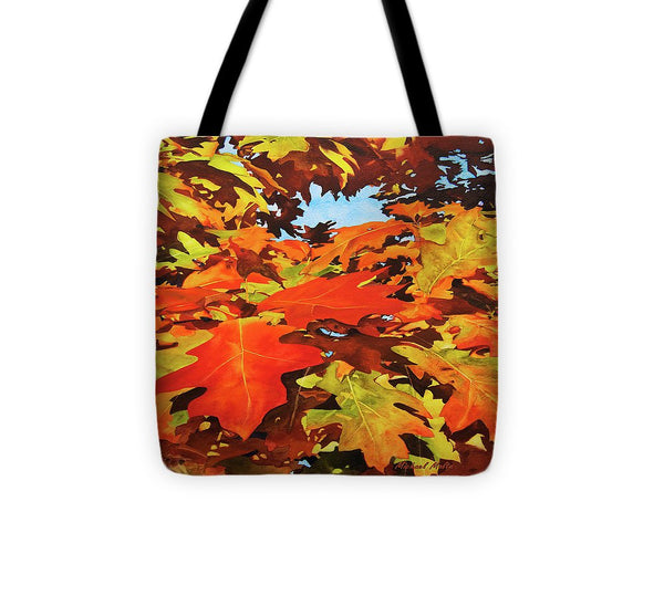 Burst Of Autumn - Tote Bag