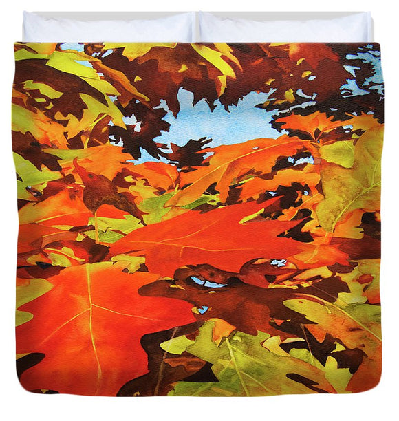 Burst Of Autumn - Duvet Cover