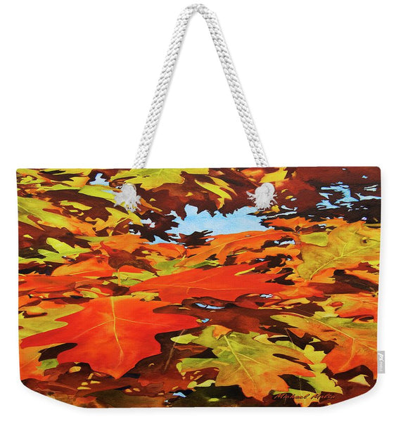 Burst Of Autumn - Weekender Tote Bag