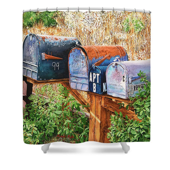 You Got Mail - Shower Curtain