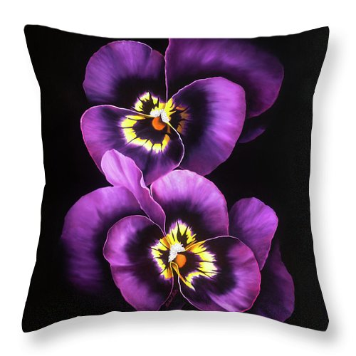 Admiration - Throw Pillow