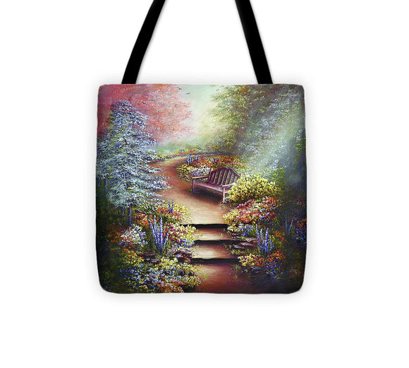 Colours Of Serenity - Tote Bag