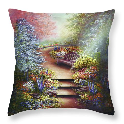 Colours Of Serenity - Throw Pillow