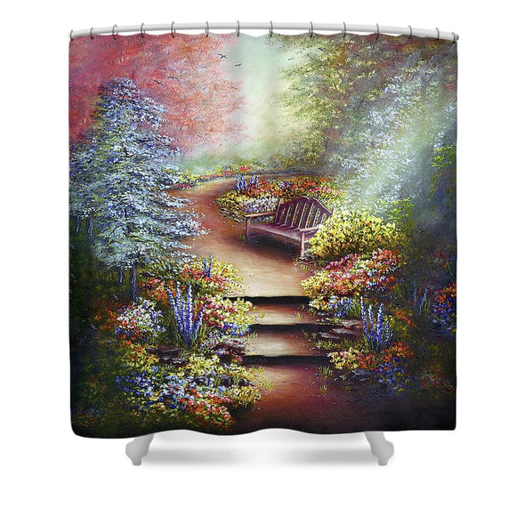 Colours Of Serenity - Shower Curtain