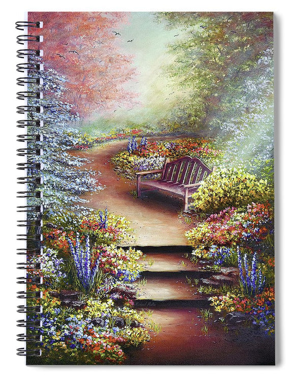 Colours Of Serenity - Spiral Notebook