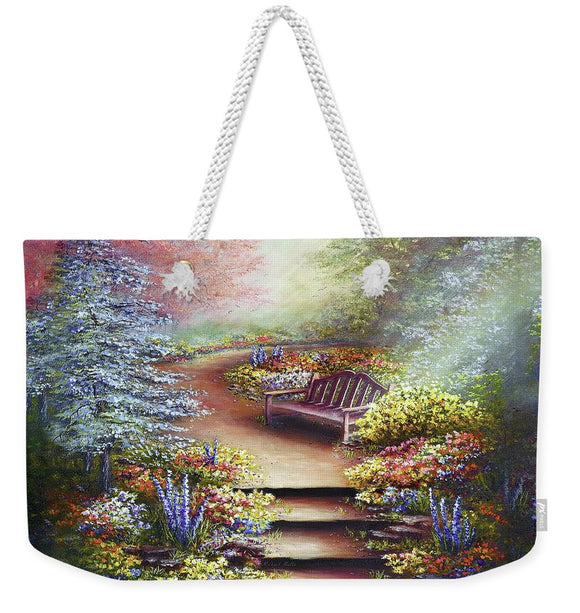 Colours Of Serenity - Weekender Tote Bag