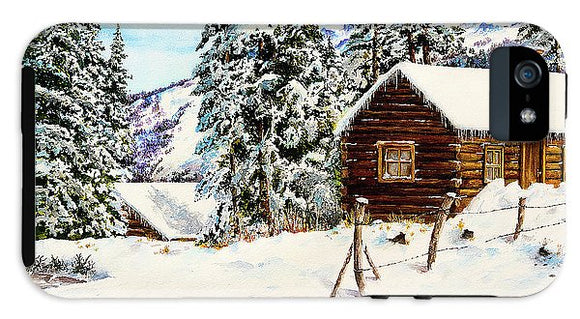Snowy Retreat - Phone Case