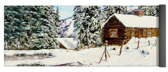 Snowy Retreat - Yoga Mat