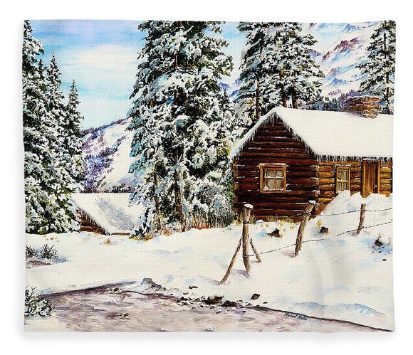 Snowy Retreat - Blanket