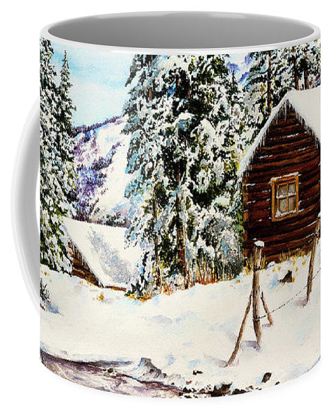 Snowy Retreat - Mug
