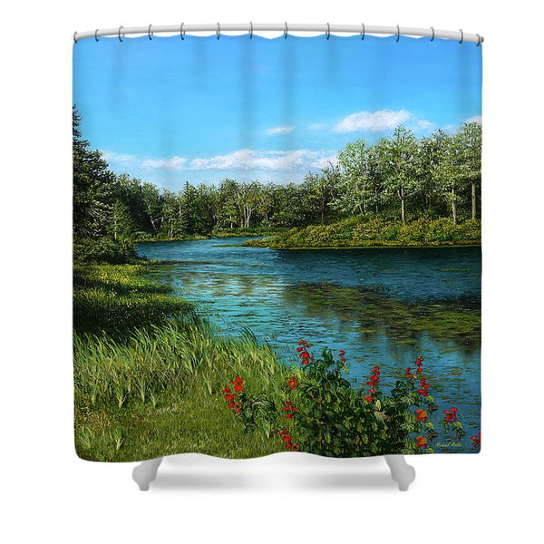 River View - Shower Curtain